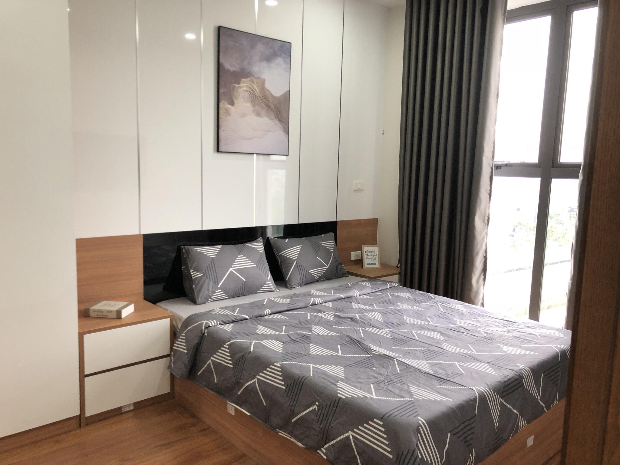 Phòng ngủ căn hộ Green Pearl Bắc Ninh